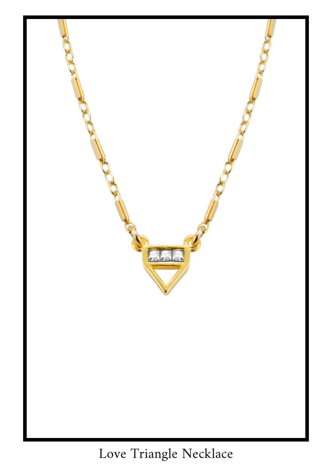 Love triangle Necklace_Katie Dean Jewelry