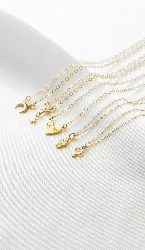 Dainty Necklaces, Katie Dean Jewelry, gift guide