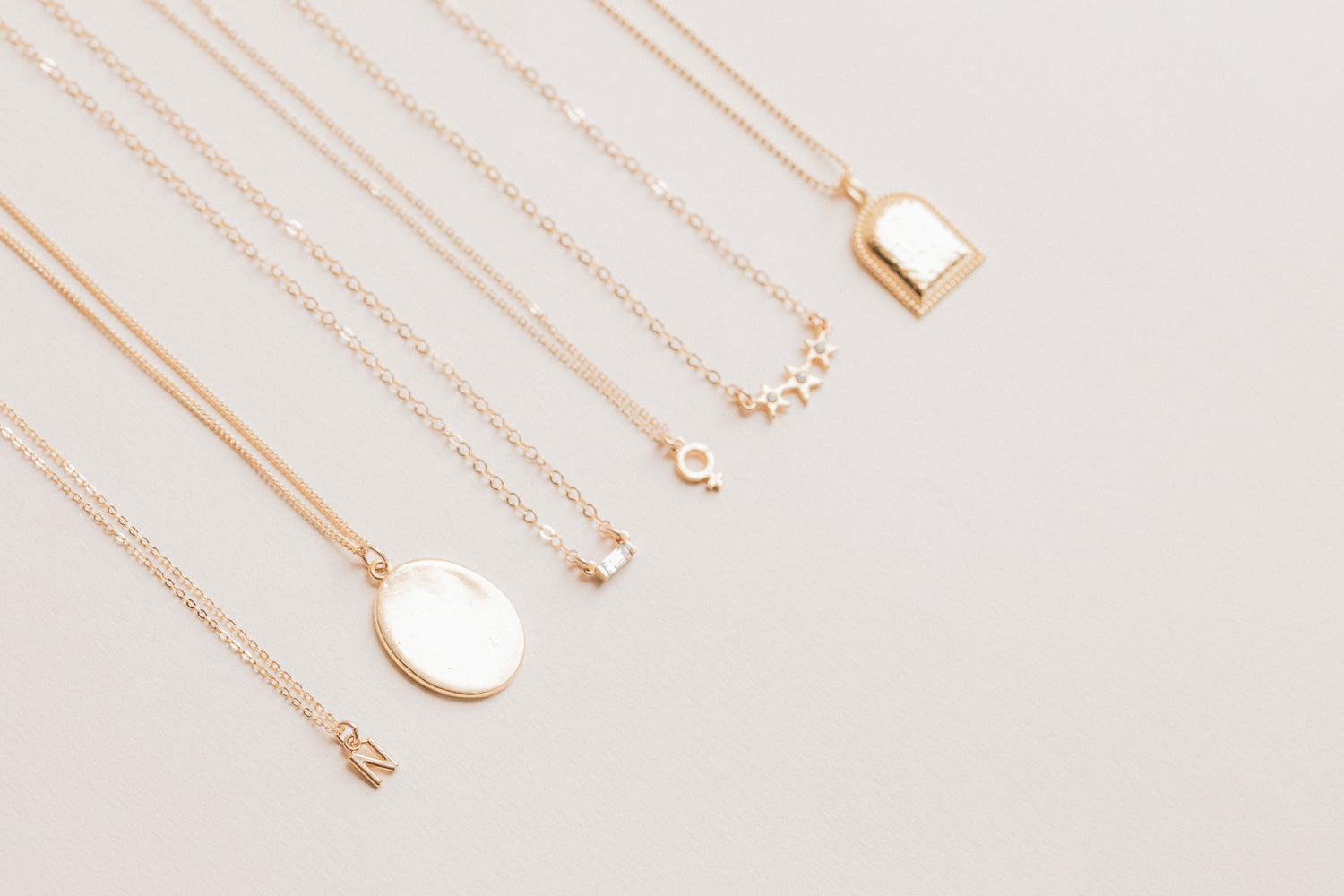 Dainty handmade Necklaces, Katie Dean Jewelry