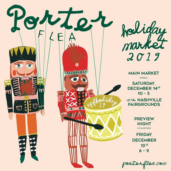 Porter Flea Nashville TN flyer, 2019