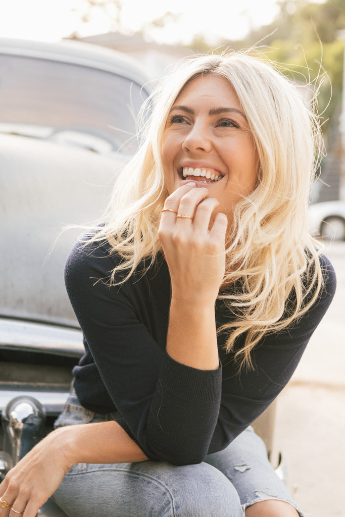 Katie Dean, founder, designer and small business owner of Katie Dean Jewelry