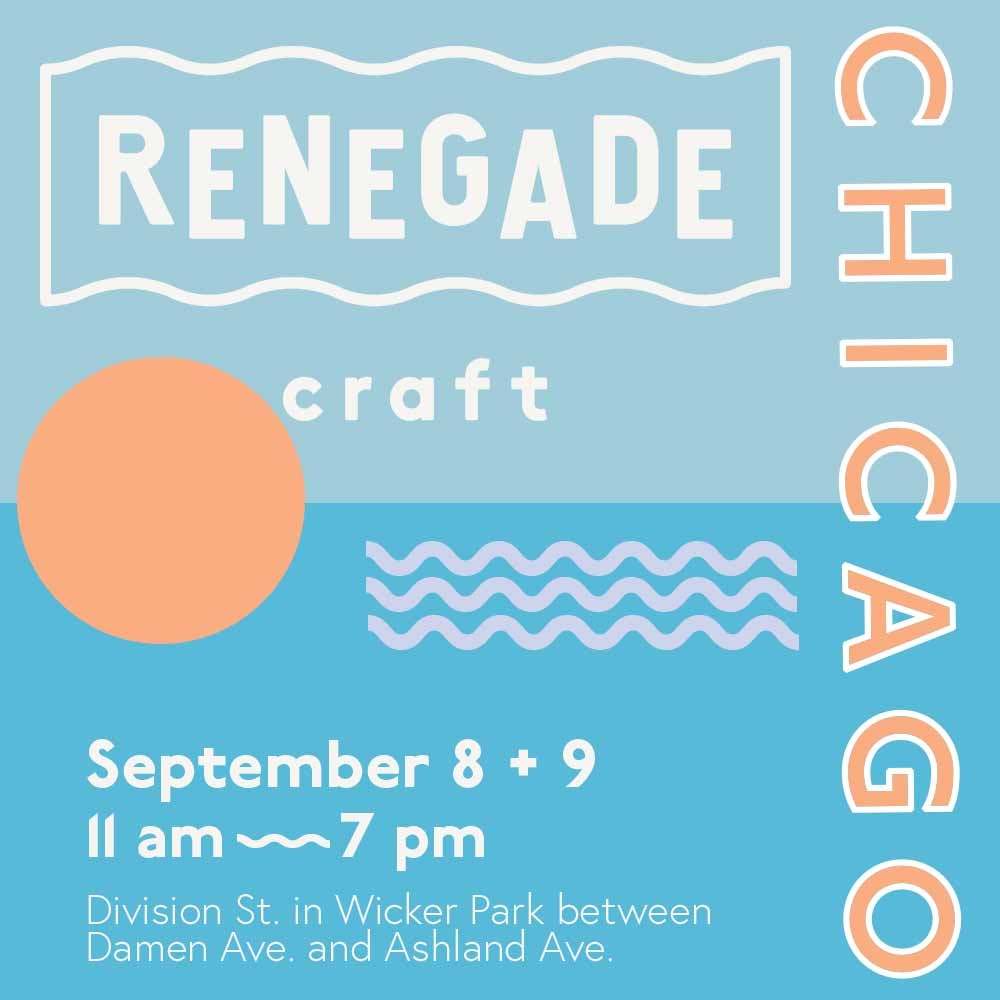 Renegade Craft Fair, Chicago Wicker Park, September Katie Dean Jewelry