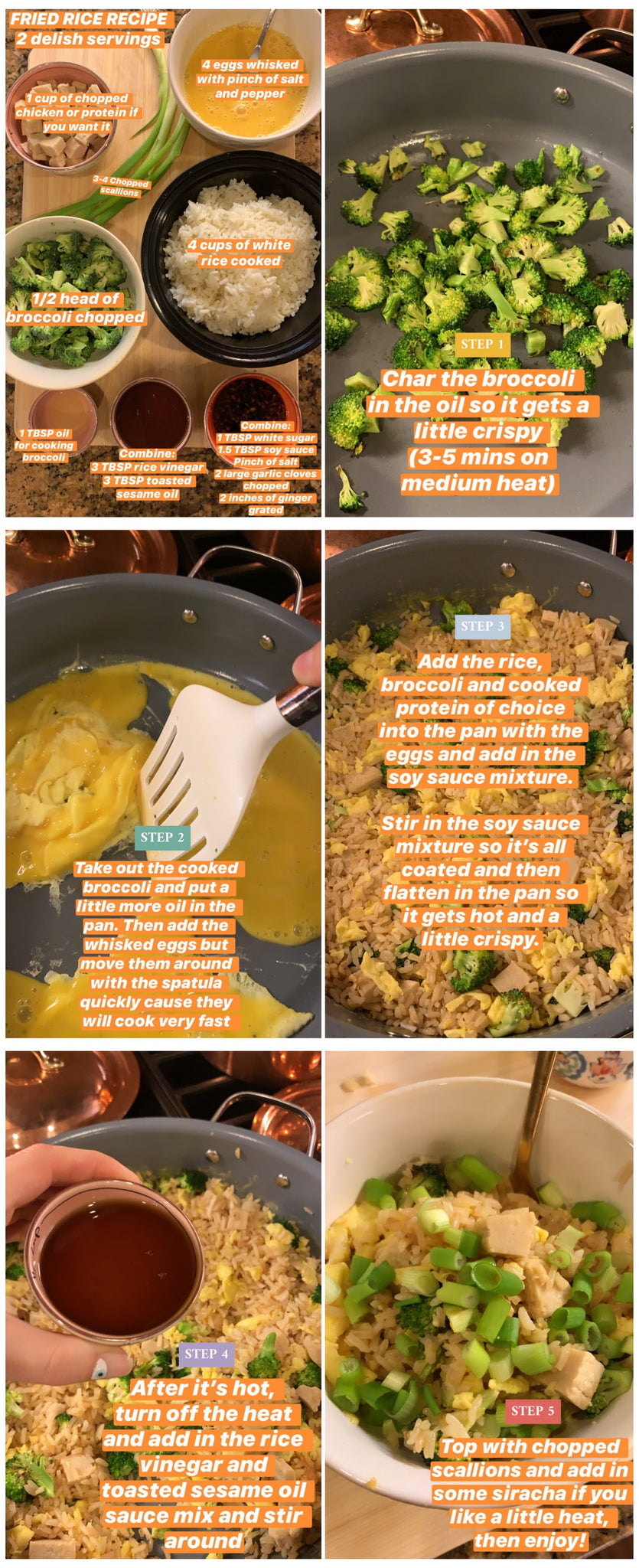 Chicken Fried Rice Recipe, easy, fast, delicious