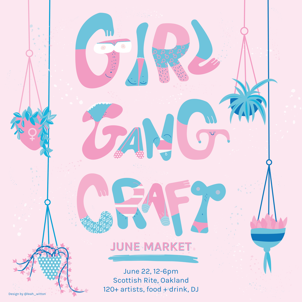 Girl Gang Craft June 22 event flyer