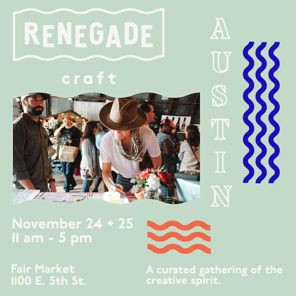 Renegade Craft, Austin Texas, Katie Dean Jewelry