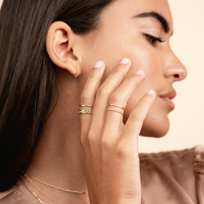 Everyday Ring Stack by Katie Dean Jewelry, perfectly dainty rings