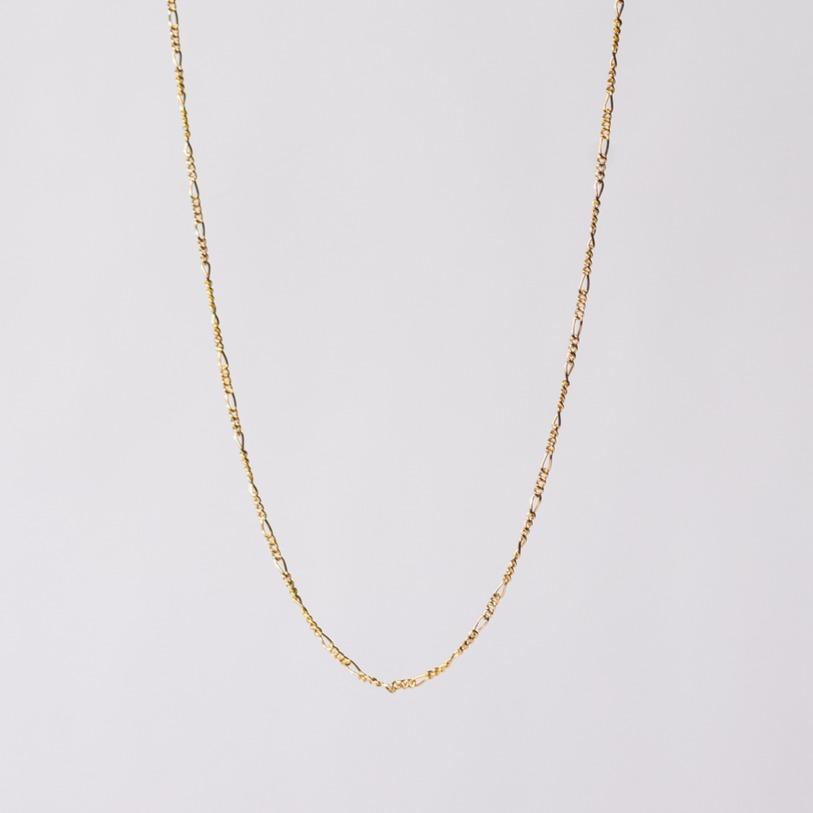 Gold Figaro Eyeglass Chain by Katie Dean Jewelry