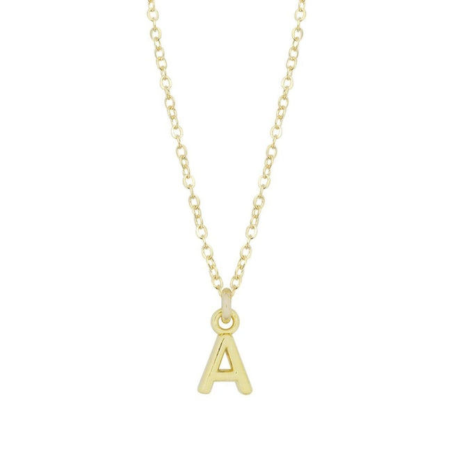 The perfect personalized piece of jewelry. The dainty Initial Necklace looks beautiful alone or layered with your other delicate jewels. Great for gifts or a treat for yourself.