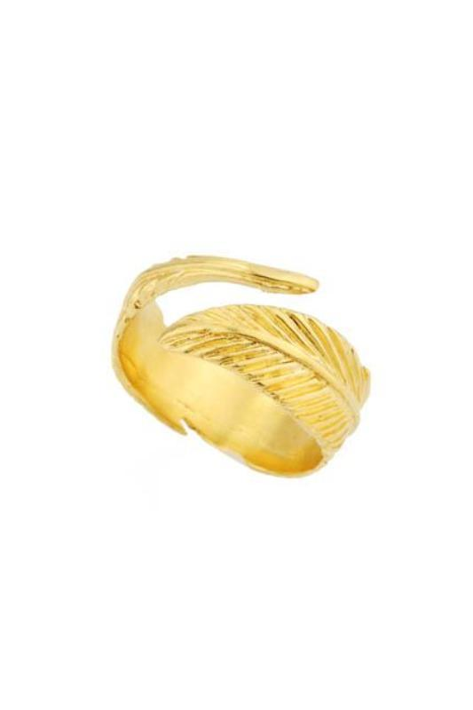 Athena Feather Ring