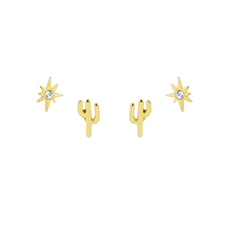 Once you go Southwest, you can never go back. Take those magical desert vibes with you wherever you go with the Southwest Earring Set.  Handmade in California by Katie Dean Jewelry. Nickel free and hypoallergenic.
