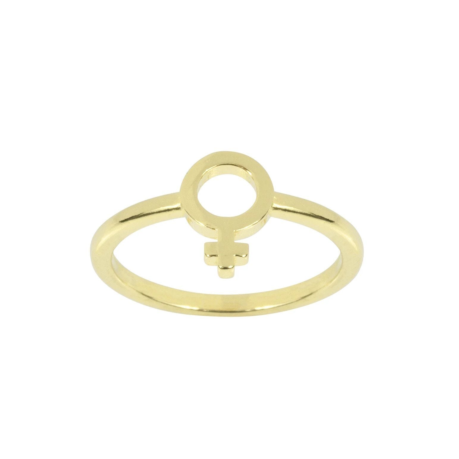 Female Symbol Ring