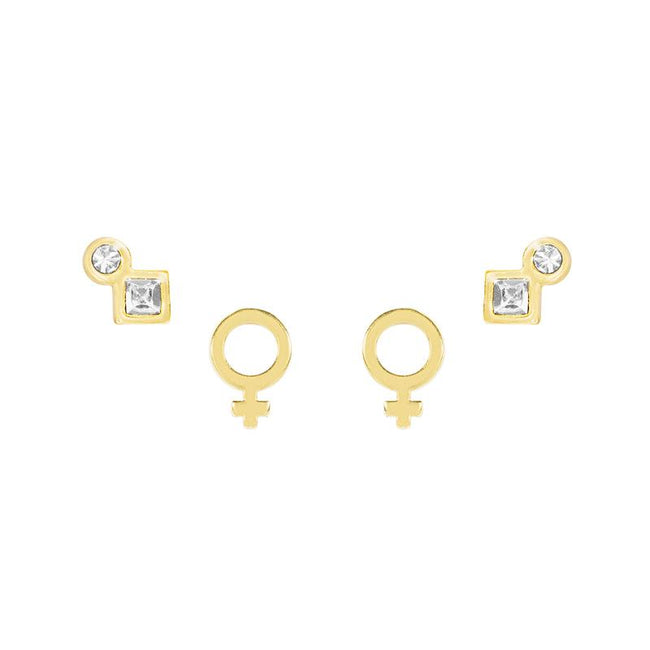 Feminist Earring Set