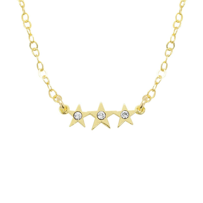 We're always reaching for the stars at KDJ. We hope the Starburst necklace is your lucky charm that makes your dreams come true!  Handmade in California by Katie Dean Jewelry.