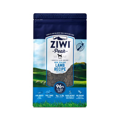 Ziwi Peak Air Dried Lamb for Dogs 1kg