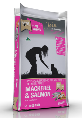Mackerel & Salmon - Meals for Meows 20kg