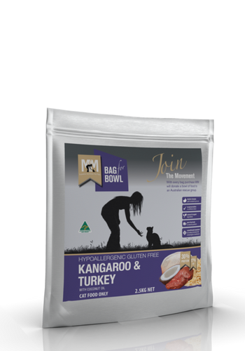 Kangaroo & Turkey - Meals for Meows 2.5kg