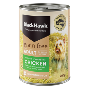 Black Hawk - Grain Free Chicken Adult Canned 12x 400g