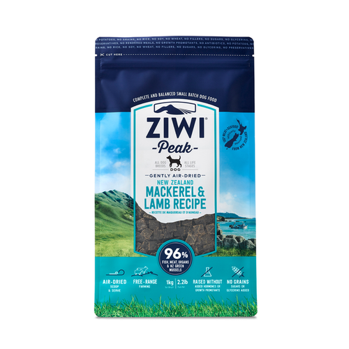 Ziwi Peak Mackerel & Lamb for Dogs 1kg