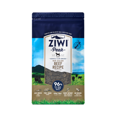 Ziwi Peak Air Dried Beef for Dogs 454g