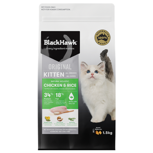 Black Hawk Kitten - Chicken & Rice 3kg