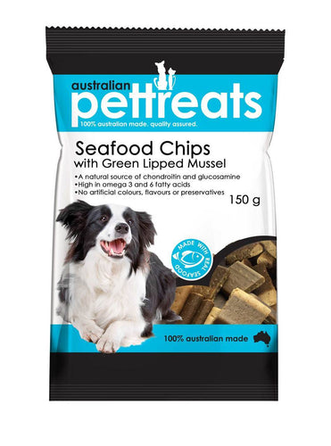 Seafood Chips with Green Lipped Mussel 150gm