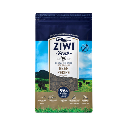 Ziwi Peak Beef for Dogs 2.5kg