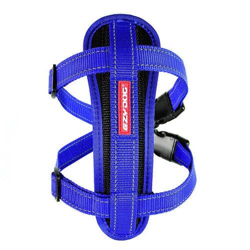 Ezydog Chest Plate Harness Blue