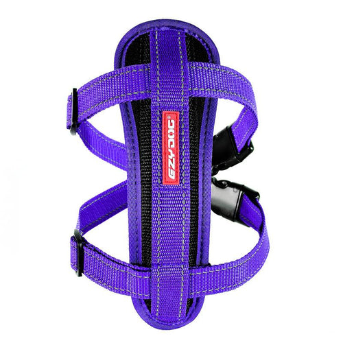 Ezydog Chest Plate Harness Purple