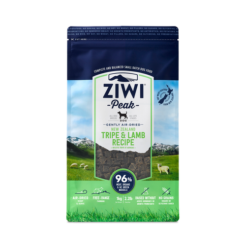 Ziwi Peak Tripe & Lamb for Dogs 1kg