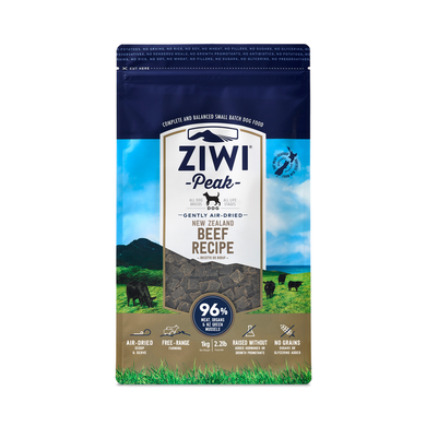 Ziwi Peak Air Dried Beef for Dogs 1kg