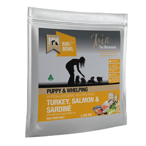 Puppy & Whelping Turkey, Salmon & Sardine Meals for Mutts