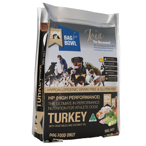 High Performance Holistic Turkey - Meals for Mutts