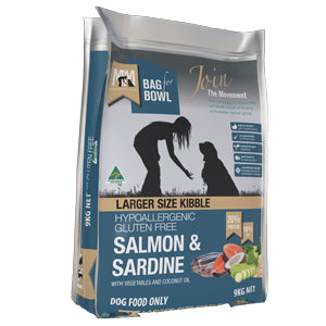 Salmon & Sardine Large Kibble - Meals for Mutts