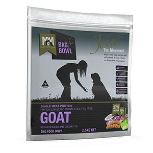 Goat Single Meat Protein - Meals for Mutts