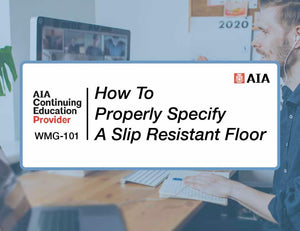 AIA Continuing Education Course: WMG-101 - Walkway Management Group, Inc.