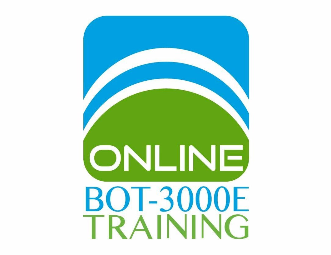 Online BOT-3000E Training Course | Walkway Management Group, Inc.