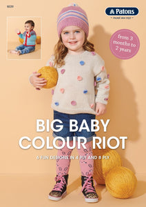 Big Baby Colour Riot Pattern Book