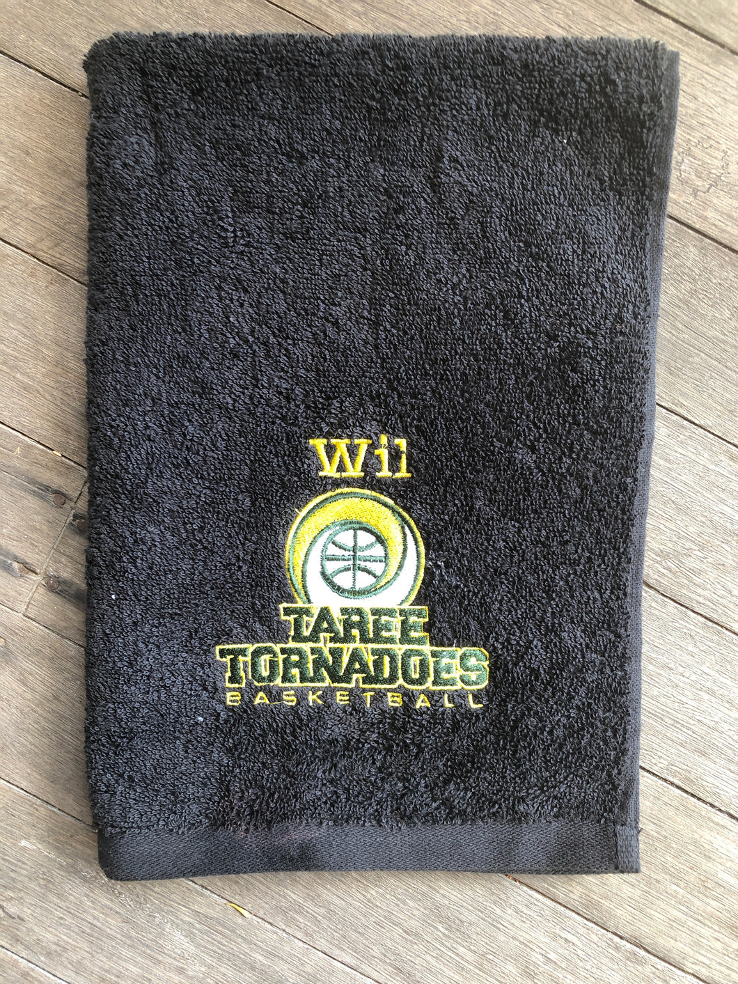Taree Tornadoes - Personalised Sports Towels - Custom Order