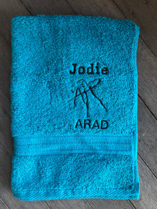 Andrea Rowsell Academy of Dance - Personalised Sports Towels - Custom Order