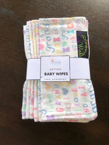 Reusable Baby Wipes - Pack of 6