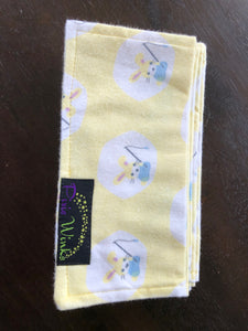 Reusable Baby Wipes - Pack of 12