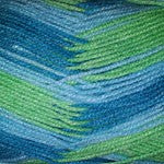Heirloom Dazzle 8ply - Aqua Multi 086311