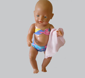 Pixie Winks Doll Swim Set