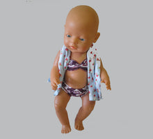 Load image into Gallery viewer, Pixie Winks Doll Swim Set