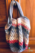 Load image into Gallery viewer, Crocheted Market/Shopping/Beach Bag