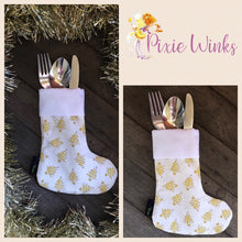 Load image into Gallery viewer, Pixie Winks Christmas Cutlery Holders