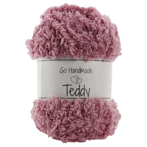 Go Handmade - Teddy - Old Rose 17319