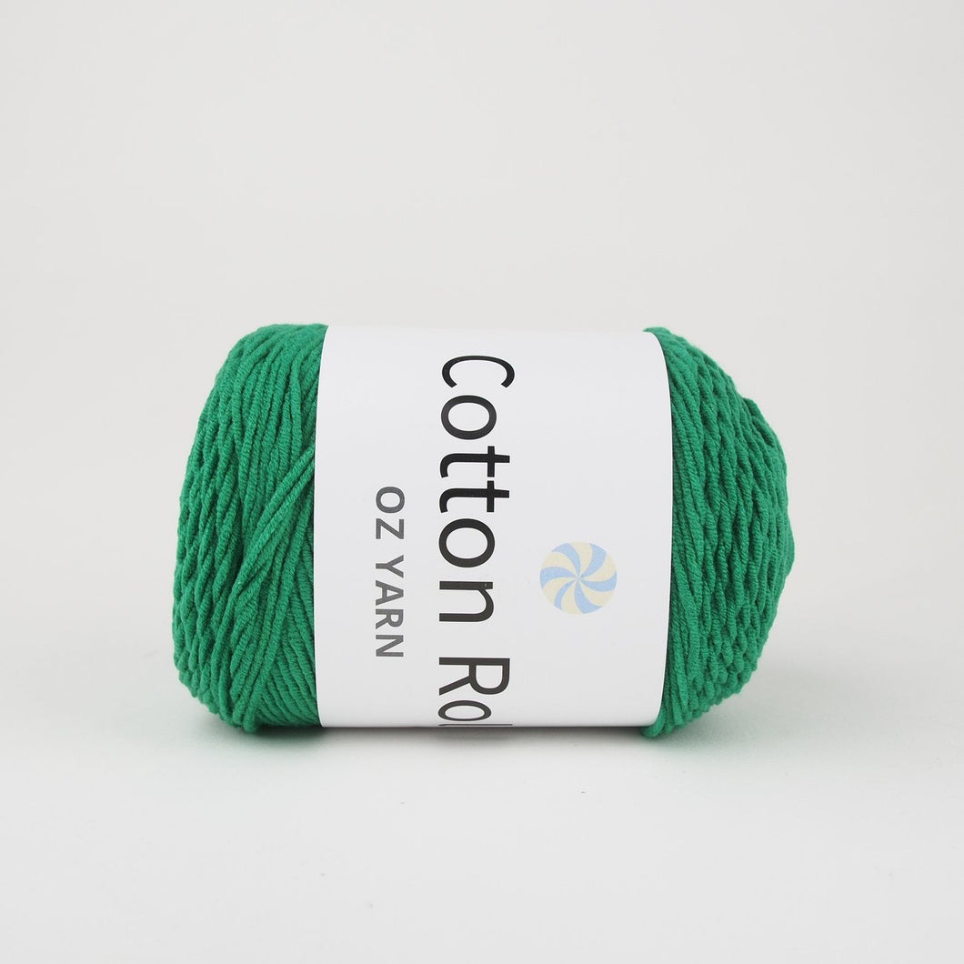 Oz Yarn Cotton Roll - Emerald Green - 12