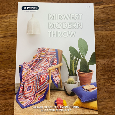Midwest Modern Throw Pattern Book