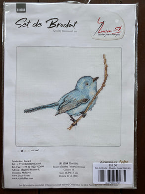 Set de Brodat - Bluebird Cross Stitch Kit